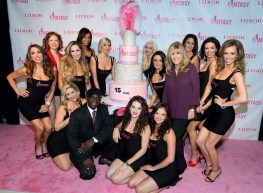 The Cast of FANTASY and Producer Anita Mann on the Pink Carpet