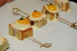 BARDOT Brasserie's signature Croque Madame