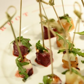 BARDOT's signature Beets with Goat Cheese