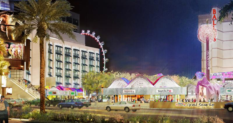 Grand Bazaar Shops Las Vegas - Intersection