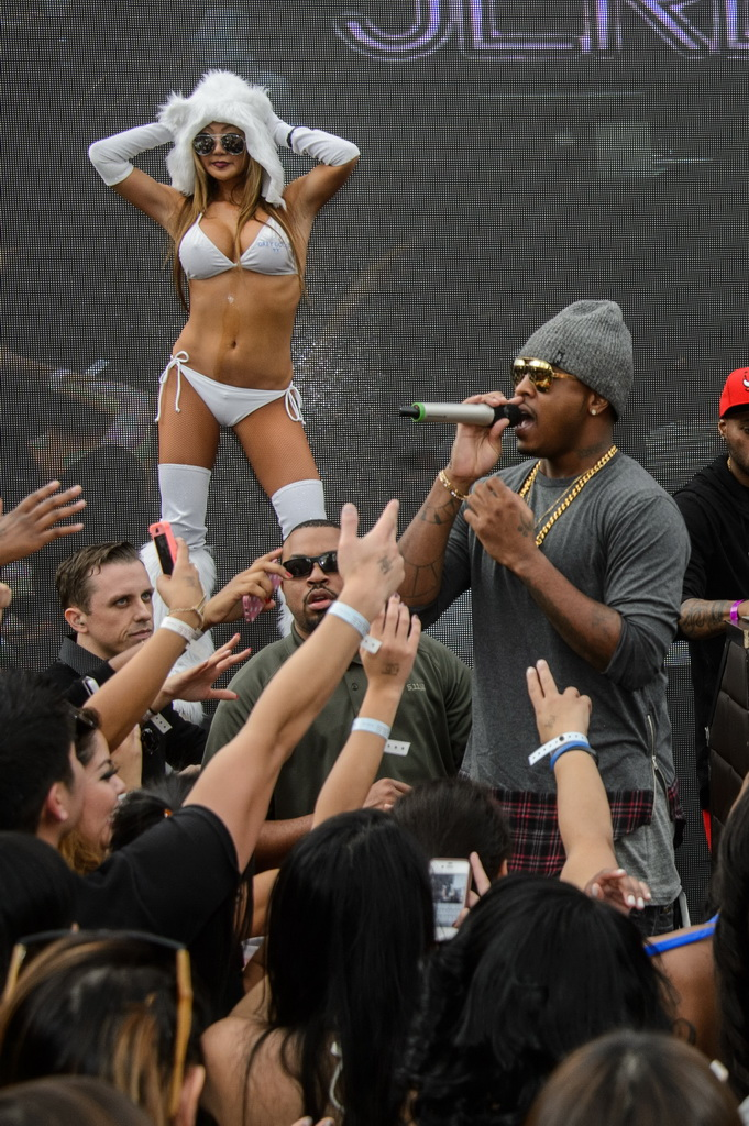 Jeremih at Marquee Dayclub Dome