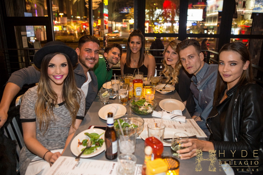 Katie Maloney and friends celebrating at Double Barrel Roadhouse