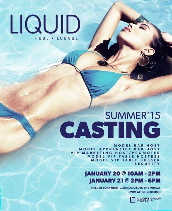 LIQUID Pool Lounge Hiring