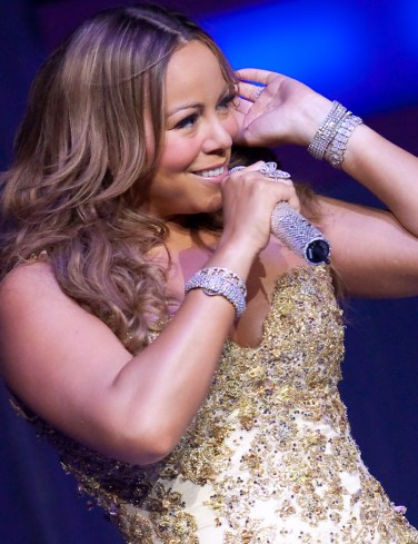 Mariah Carey 'The Angels Advocate Tour' at The Colosseum at Caesars Palace
