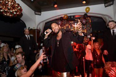 Miguel performing at Hyde Bellagio, Las Vegas 12.31.14
