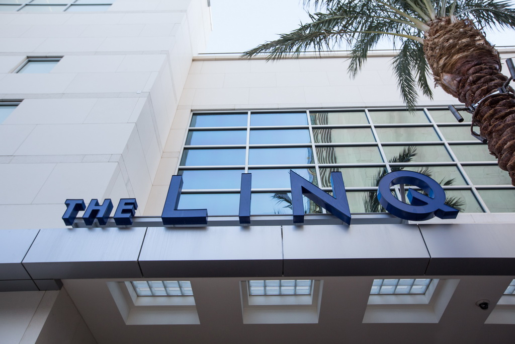 The LINQ Hotel Exterior