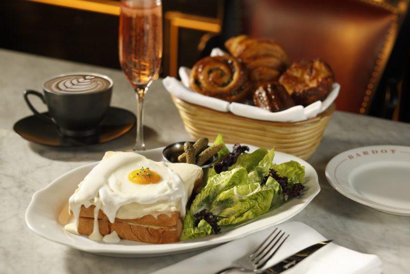 BARDOT Brasserie - Croque Madame