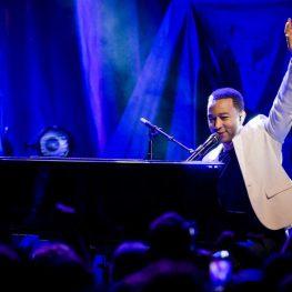 John Legend at iHeartRadio Ultimate Valentine's Day Escape