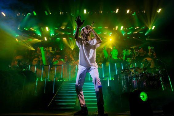 Wiz Khalifa at Mandalay Bay