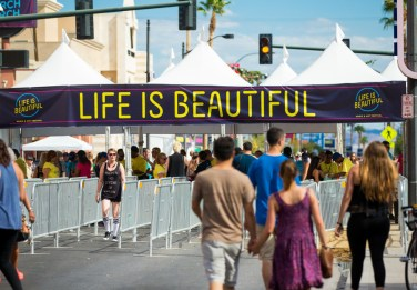 Life is Beautiful 2015 - Day One