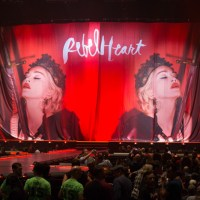 Madonna Rebel Heart Tour Pics at MGM Grand