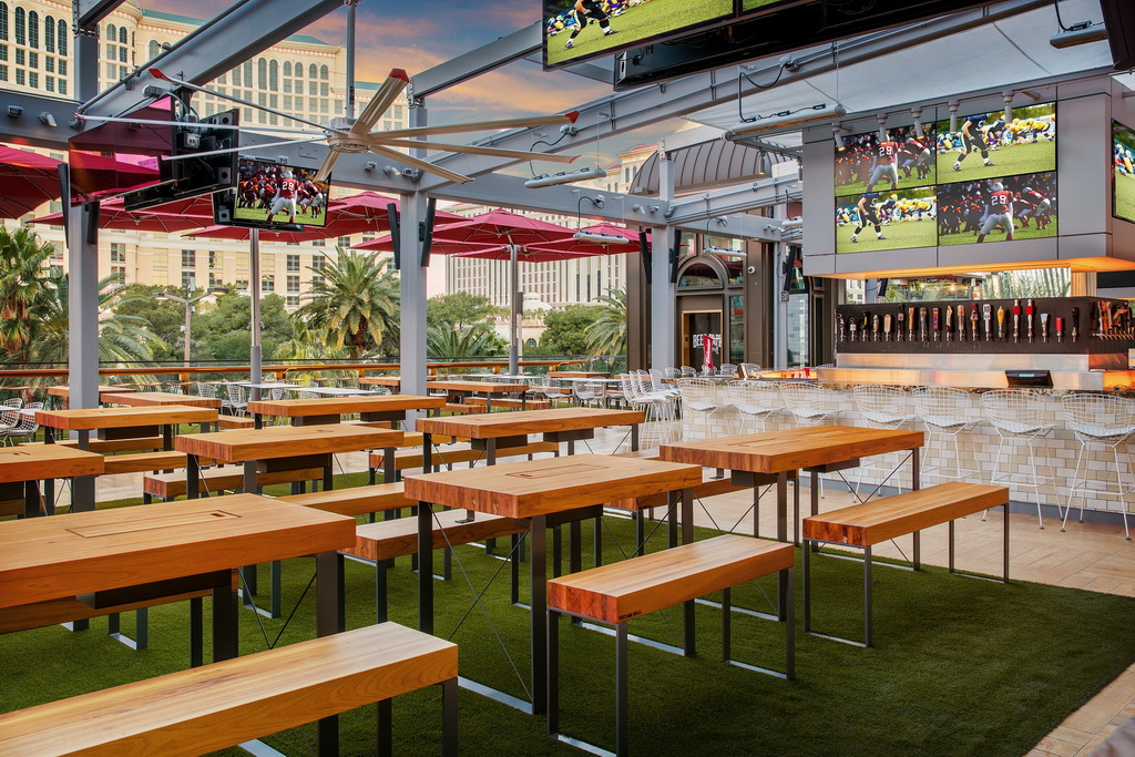 Beer Park Bar and Seating by Anthony Mair