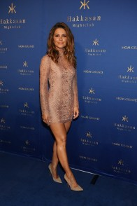 Maria Menounos arrives at Hakkasan