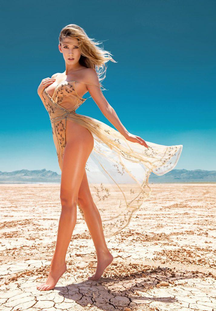 FANTASY Desert Soolin Calendar Tease by Oscar Picazo