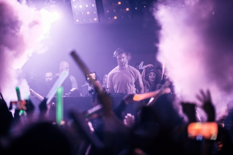 Calvin Harris at Hakkasan