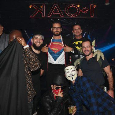 las vegas halloween 2016 at 1 oak nightclub inside mirage hotel