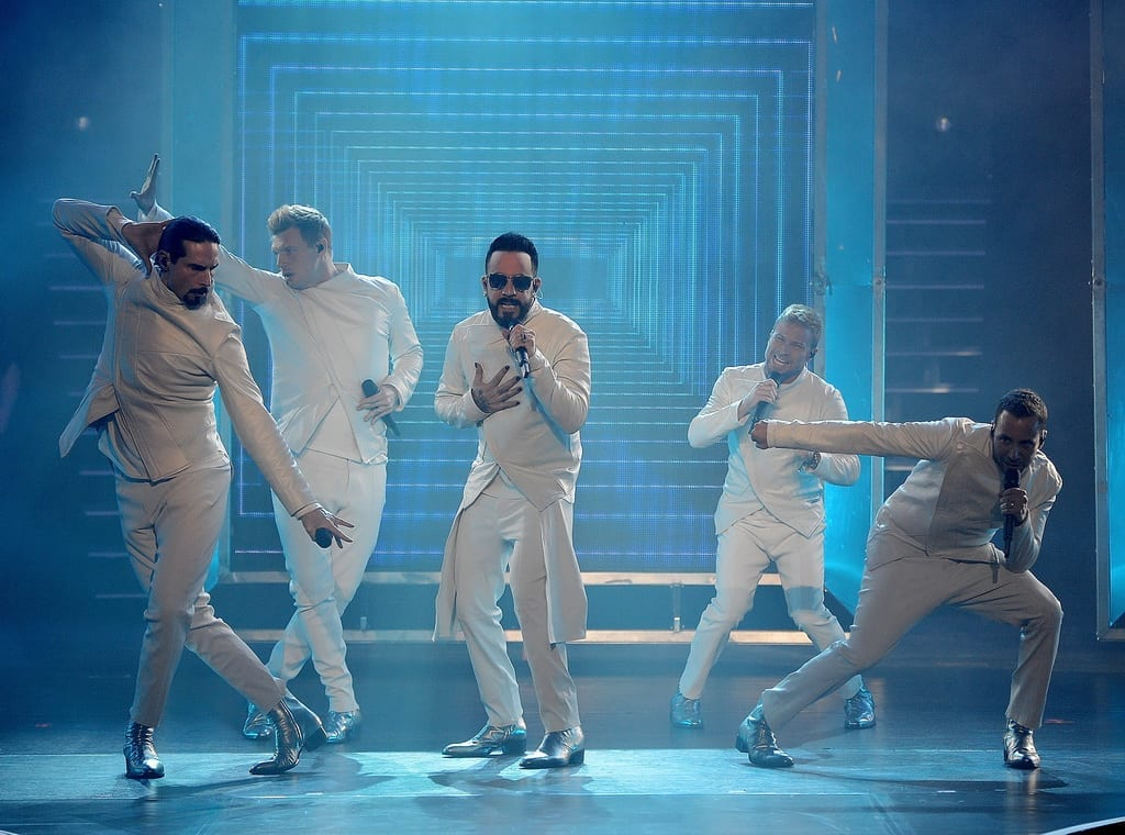 Backstreet Boys After-Parties at Chateau Nightclub & Rooftop inside Paris Las Vegas