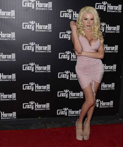 Courtney on Red Carpet