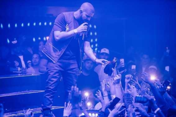 Drake at Hakkasan Nightclub