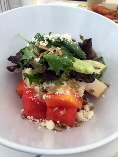 Watermelon Salad - Drai's Cafe - Photo by Jeremy Womack