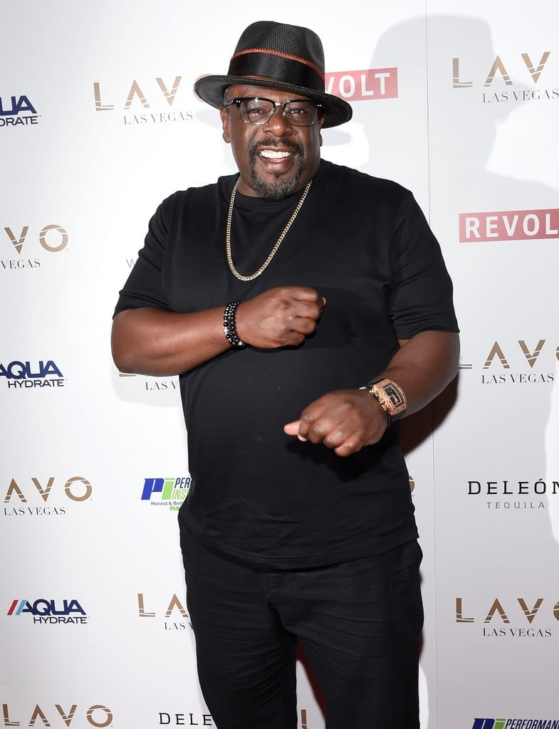 "Cedric The Entertainer at Sean ""Diddy"" Combs, Mark Wahlberg, and Stephen Espinoza host Double or Nothing Welcome to Fight Weekend Kick-Off Powered by CÎROC Vodka and AQUAhydra"
