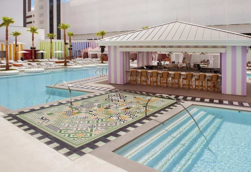 SLS Las Vegas Foxtail Pool