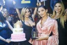 Pia Mia enjoyed her 21st birthday at Hyde Bellagio