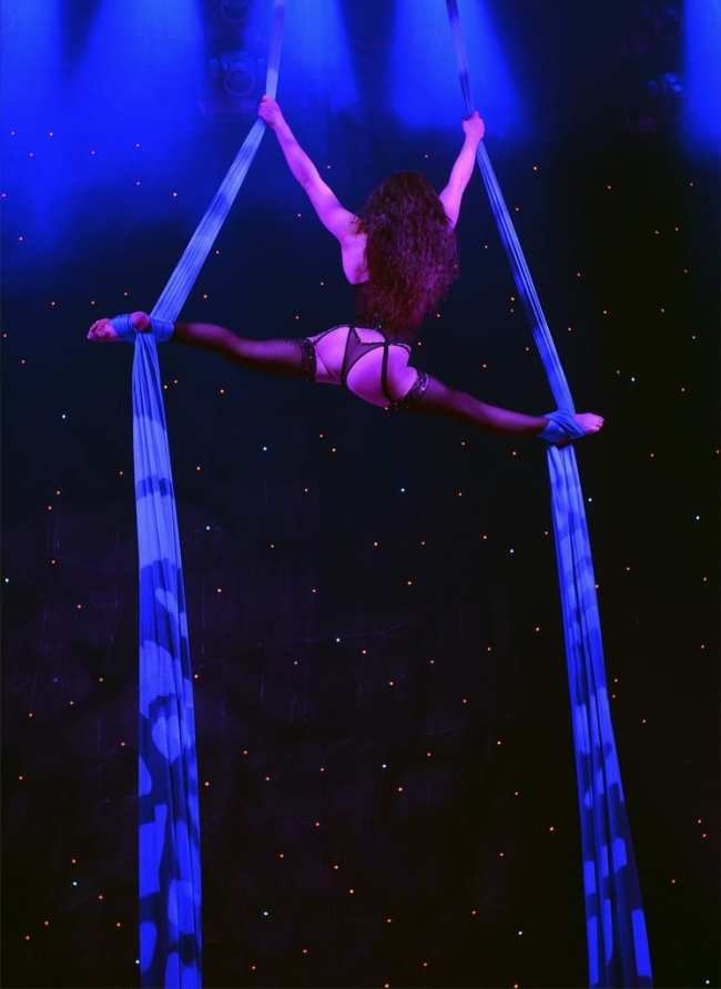 FANTASY Sonya on Silks - Photo Credit Bryan Steffy