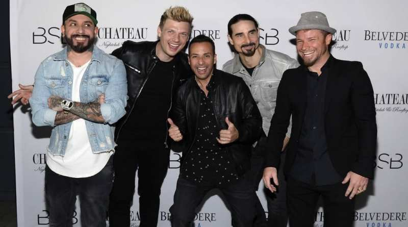 The Backstreet Boys at Chateau