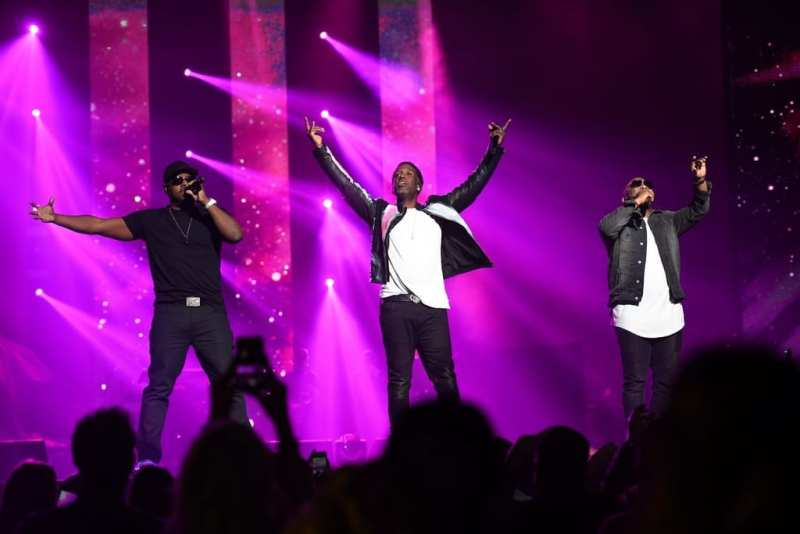 Boyz II Men Performs at Vegas Strong Benefit Concert
