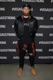 Bryce Harper at the Vegas Strong Benefit Concert