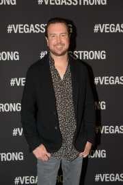 Kurt Busch at the Vegas Strong Benefit Concert