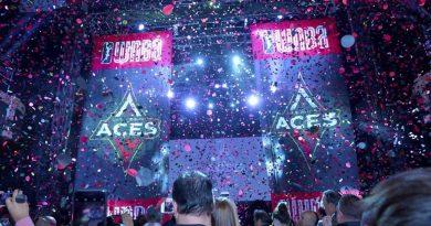 Las Vegas Aces Reveal their Name & Logo at Las Vegas Press Event