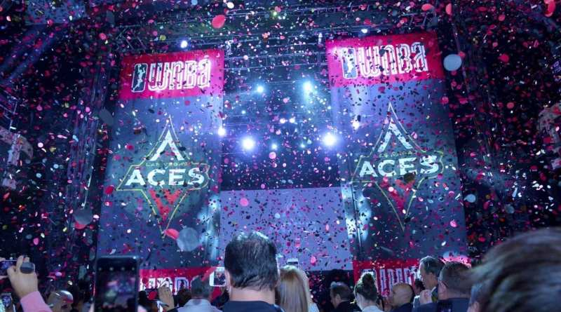 Las Vegas Aces Reveal their Name & Logo at Las Vegas Press Event