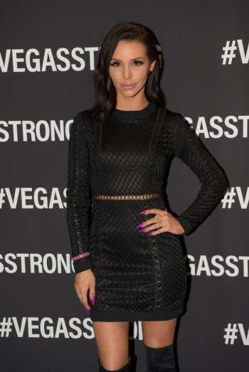 Scheana Marie at Vegas Strong Benefit Concert