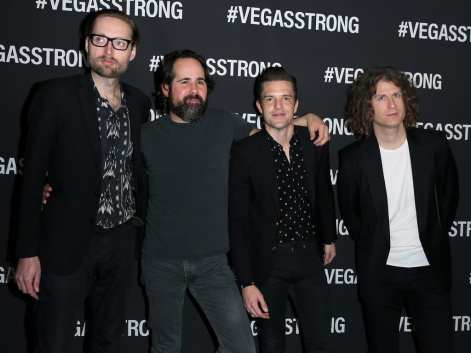The Killers at Vegas Strong Benefit Concert.