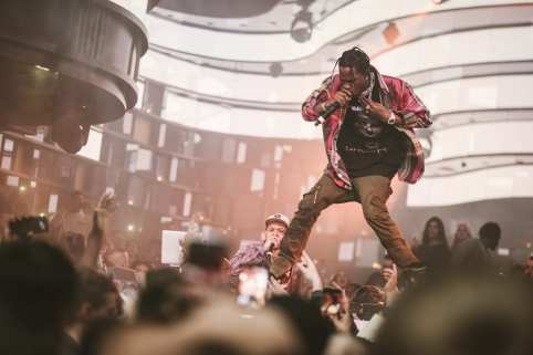 OMNIA NYE 2017 with Travis Scott