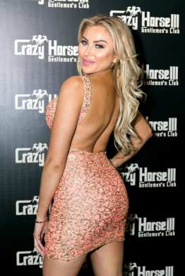 Khloe Terae on Red Carpet at Crazy Horse III
