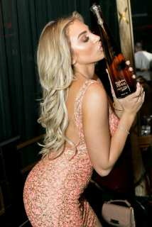 Khloe Terae with Don Julio 1942 Tequila Bottle at Crazy Horse III