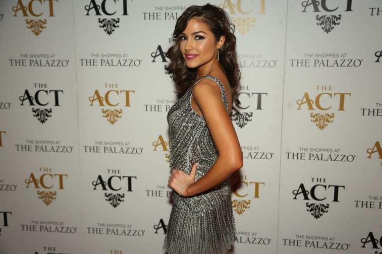 Olivia Culpo on the red carpet at The ACT Nightclub