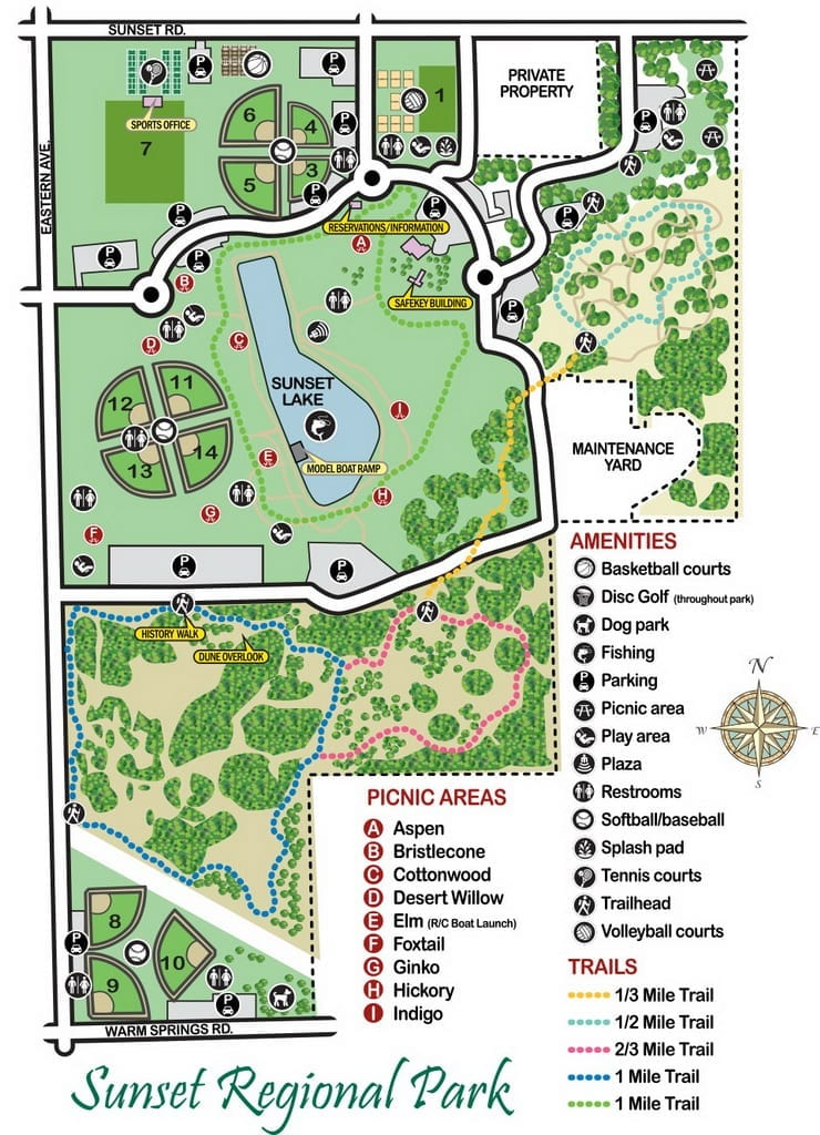 Sunet Park Map