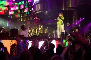 Zedd and Maren Morris at OMNIA Nightclub - Photo Cred Michael Kirschbaum