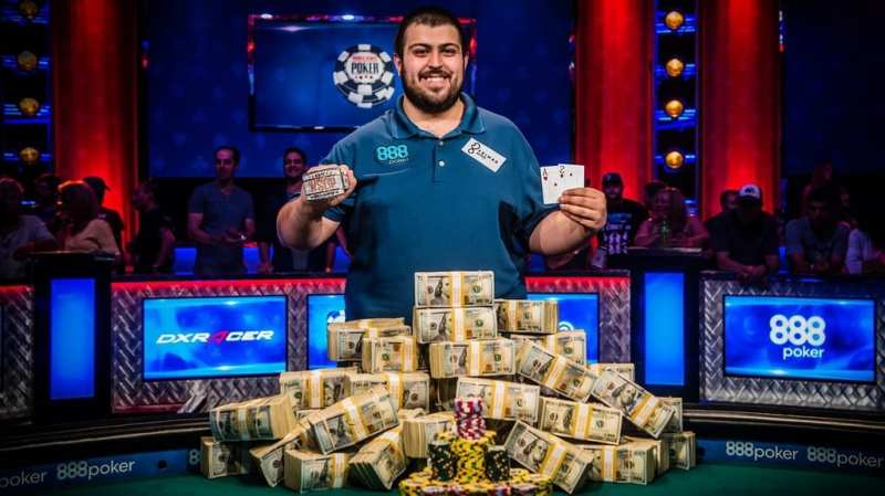 2017 World Series of Poker Winner - Scott Blumstein