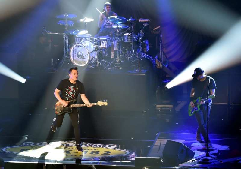 Blink 182 at the Pearl Concert Theater