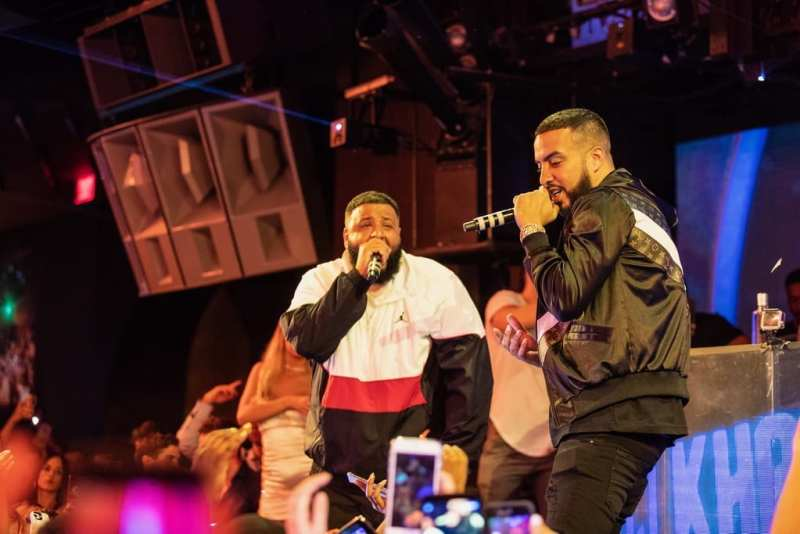 DJ Khaled & French Montana at Marquee