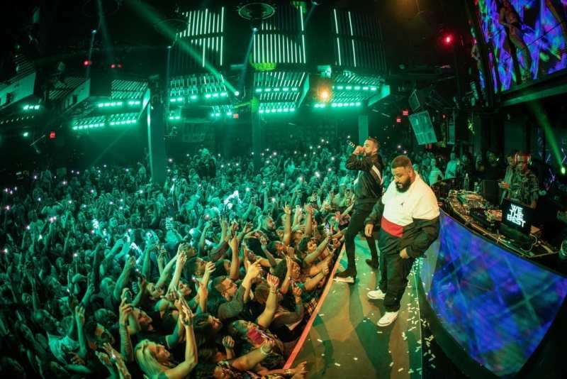 French Montana & DJ Khaled at Marquee
