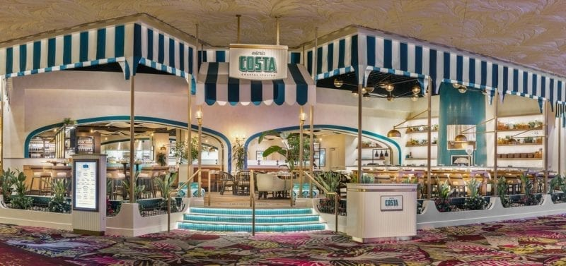 Osteria Costa at The Mirage - Photo Credit Anthony Mair