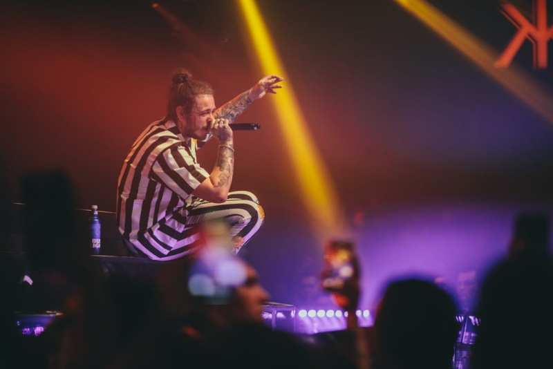 Post Malone at Hakkasan - Photo credit Joe Janet