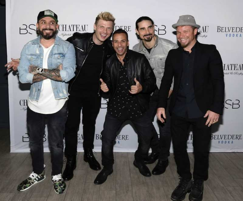 Backstreet Boys at Chateau