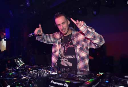 DJ Eric DLux at Playboy's Midsummer Night's Dream at Marquee Nightclub